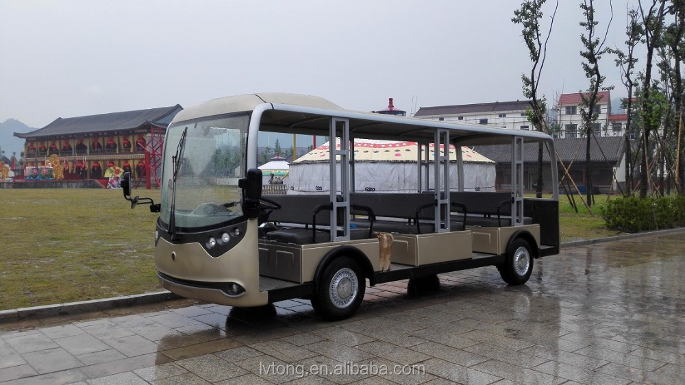 23 seater sightseeing bus, 72v/9kw AC system