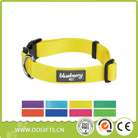 Blueberry Pet Classic Nylon Dog Collars Personalized Collars Matching Leash Harness Available Dog Leashes and Collars Dogift0805