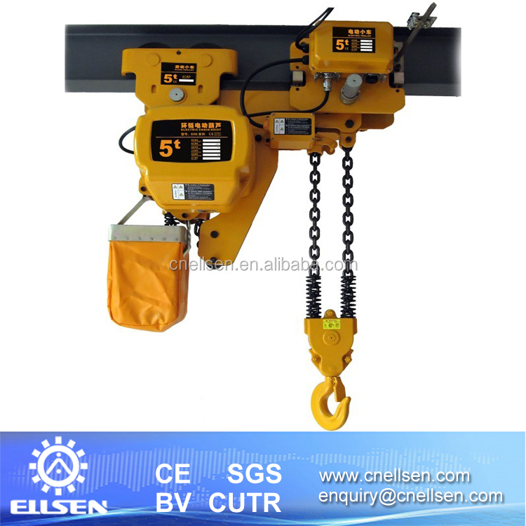 5 ton hsy series with limiter electric chain hoist