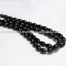 Black Pearl Strand/Black Pearl Necklace