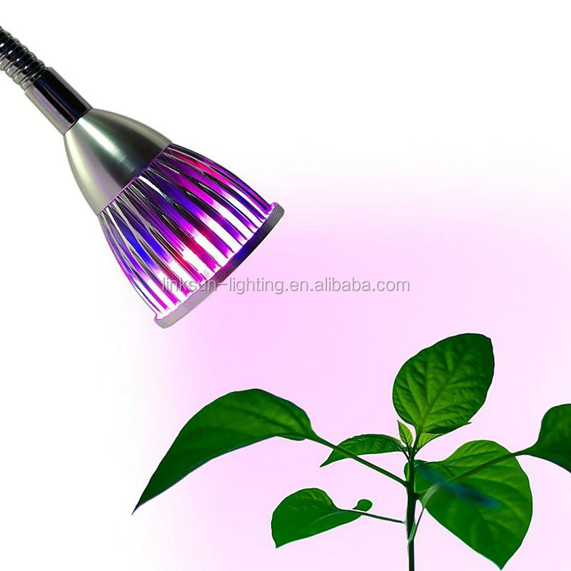 Led Grow Light Garden Flowering Plant Lamps Flexible Clamp Led Grow Light With Double Lamp Buy
