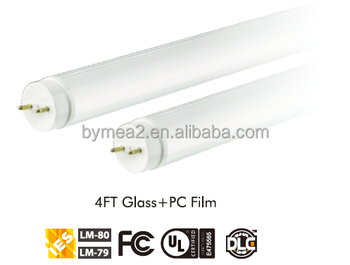 T8 Led Tube Ul 4ft 18w G13 Typea Type B Compatible Ul Dlc Listed ...