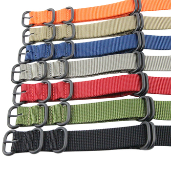 16mm 18mm 20mm 22mm 24mm Custom ZULU Nylon Watch Strap