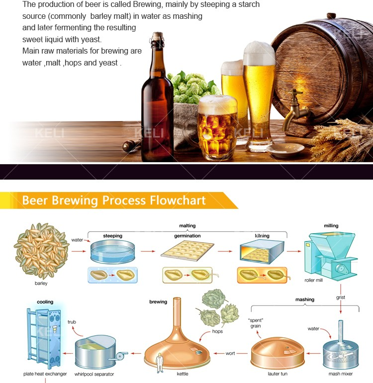 500L Craft Beer Brewing Equipment For Sale/brewing system/brewing equipment