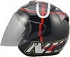 Discount harley gsb open face style shield men or women motorcycle helmet