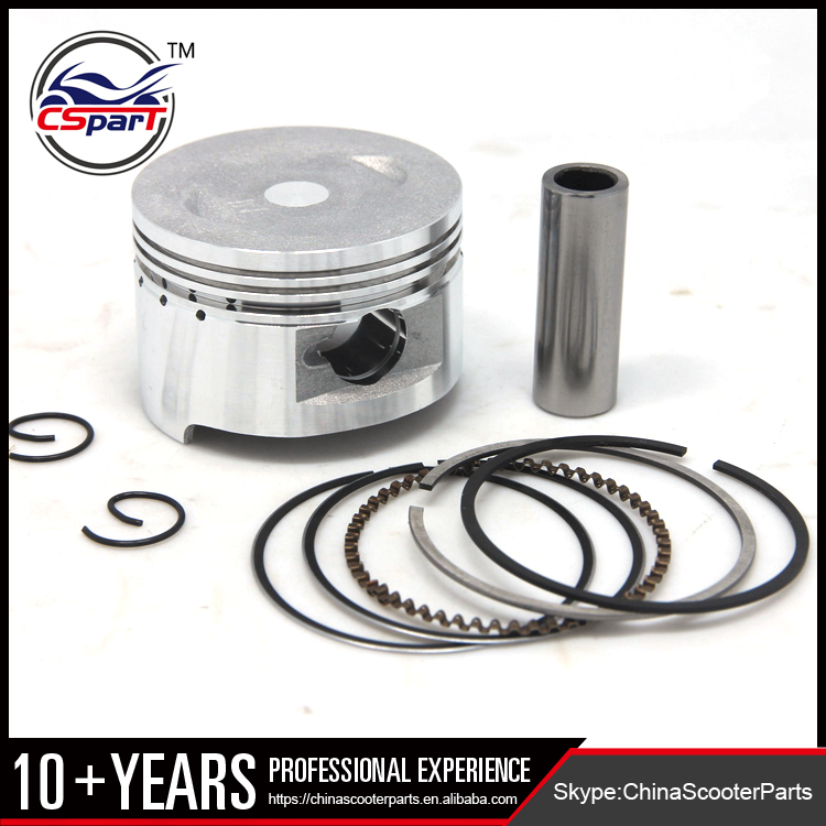 Performance GY6 50mm Piston Rings Kit for 100CC Jonway Taotao Wangye Baotian Sunny Keeway Roketa JCL 139qmb Scooter Parts