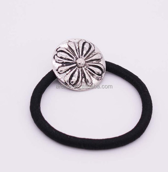 Fashion Metal Round Shape Elastic Hair Band For Party Accessories ... edf86b5a37c