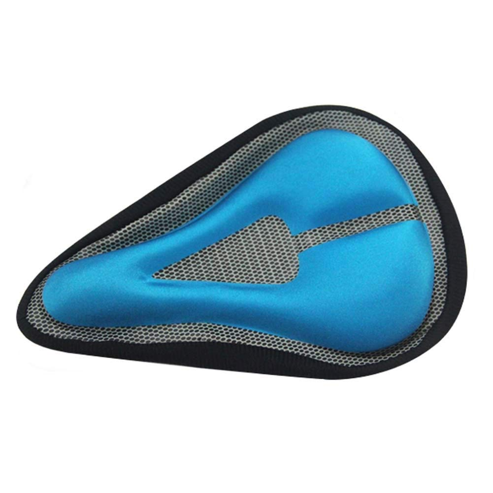 WEYUN Sport Outdoor Bike Gel Seat Cushion Cover, Most Comfortable Bicycle Saddle with Soft Cushion, Bicycle Saddle Seat Cover for Mountain Bike Stationary Exercise Bike