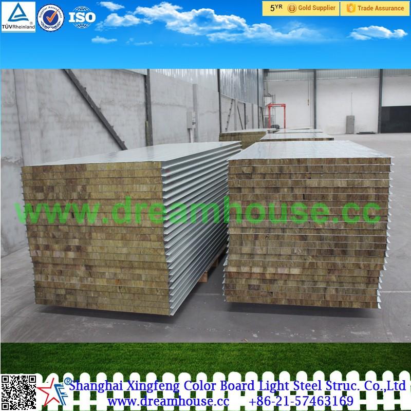 Rockwool insulation panel wall sandwich panel rockwool for Rockwool insulation panels
