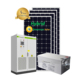 380v Hybrid solar power system 30kw roof installation 30000w storage system for home