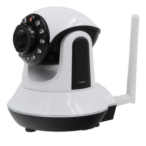 720P HD Wireless Network camera with RJ45 Night Vision PT Indoor Home Surveillance H.264 Plug and play P2P wifi IP Camera