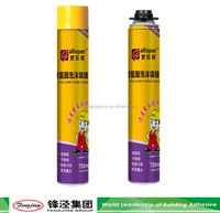 Heat resistant different types polyurethane foam sealant for cables duct with competitive price