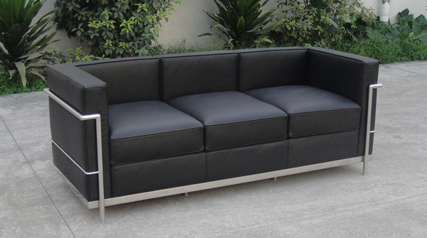 Sofa replica sofa lc2 buy sofa replica sofa replica lc for Le corbusier replica