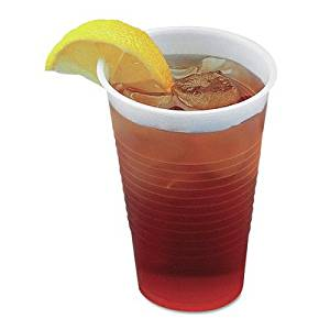 "1 oz. Translucent Plastic Hot/Cold Cups (Pack of 100) [Set of 2] Size: 20.63"" H x 1"" W x 1.2"" D"