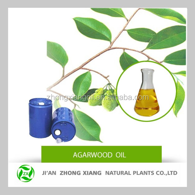 High quality pure natural agarwood oil