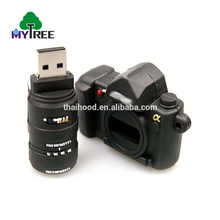 High-end and exquisite compact size memory novelty custom camera key usb stick 8gb