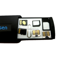 Betsen Mobile Safe Box Safe travel Case Include SIM Cards SD Cards and Mobile Accessories