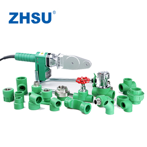 German Standard PN20 PN25 Green PPR Pipe and Fittings for Hot Water