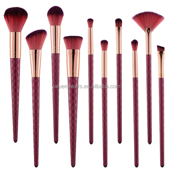 e9f042dfed3 2018 hot sale 10pcs makeup brush set china manufacturer professional makeup  brushes sets