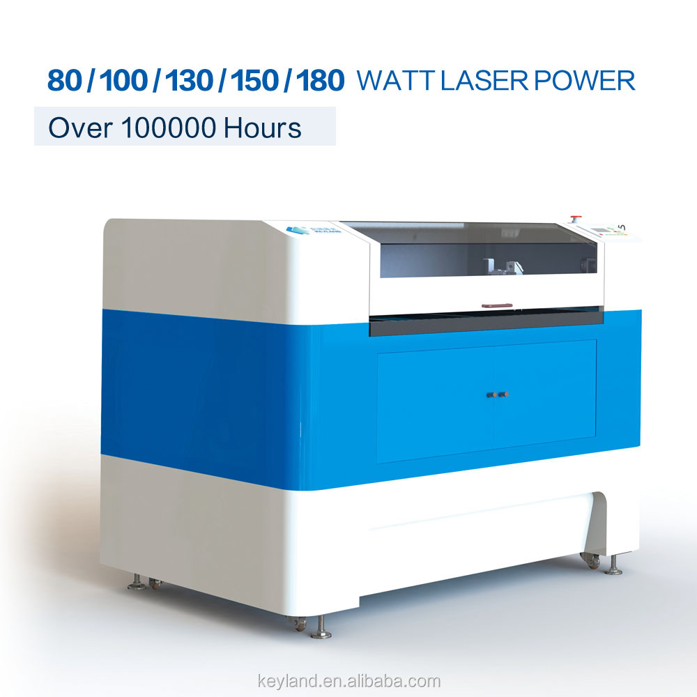 KEYLAND 60 / 80 / 100 / 130 / 150 Watts Laser Cutter for Acrylic Wood Leather Rubber