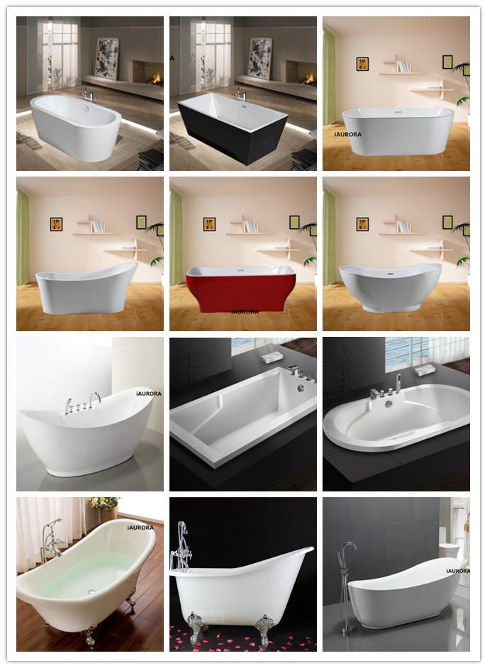 Cheap Acrylic Clawfoot Bathtub Wih Legs, Classical Bathtub, Antique Tin Bathtub  Tub
