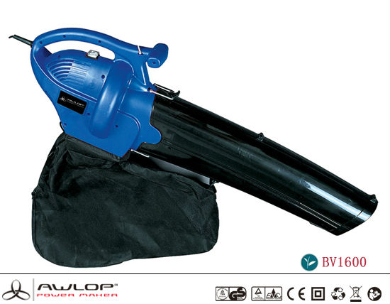AWLOP 1600W Electric Portable Blower And Vacuum with Leaf Bag Garden Tools