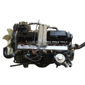 Japanese bus used 1HZ diesel Engine and gearbox with fine reputation and best-selling