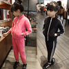 Latest fashion children tracksuits children clothes clothing sets sports wear girls 2016