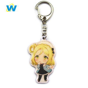 Custom latest anime keychains for boys or guys