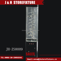 Modern style shop counter acrylic display showcase made-in-china