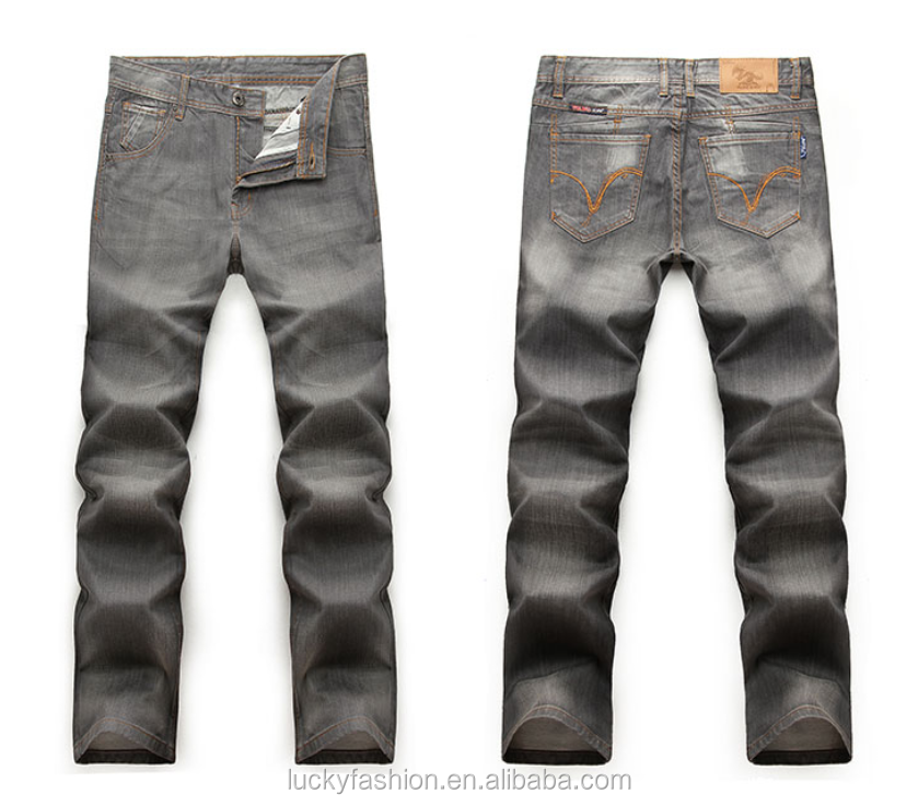 High Quality Skinny Fit Washed Trousers Custom Denim Jeans ...