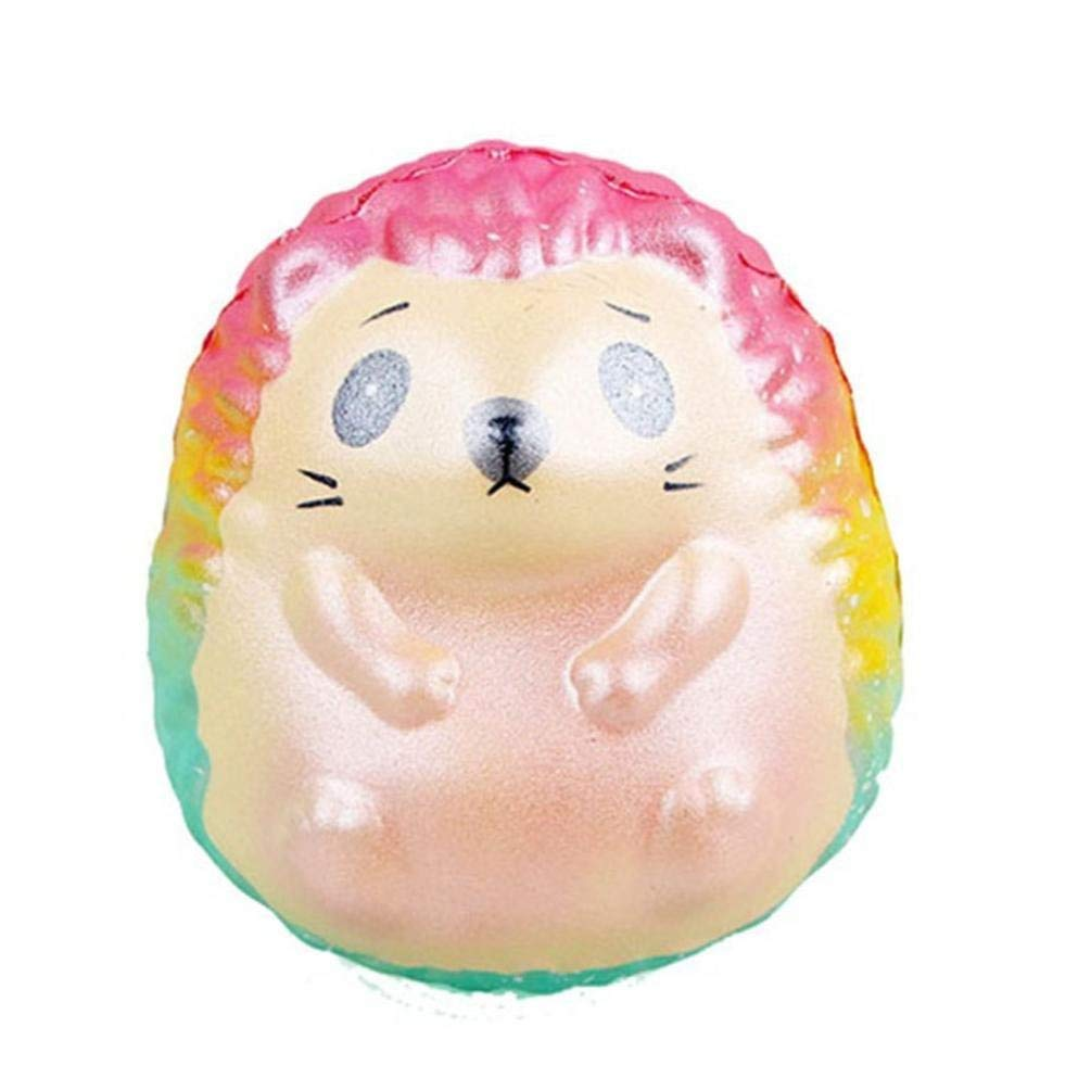 Drfoytg Clearance,Stress Reliever Toys Cute Squeeze Toy Hedgehog Decompression Slow Rising Squishy Cream Scented Pet Animal (Multicolor)