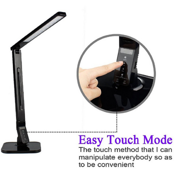 Modern best-selling adjustable touch Desk Lamp LED with USB charger/60 minutes auto timer/4 lighting modes/5 steps dimming