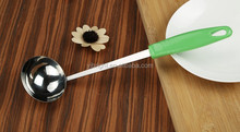 a10092 pp handle Stainless steel kitchen ladle
