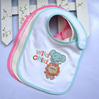 Lovely Supply Exquisite embroidery baby bib for kids
