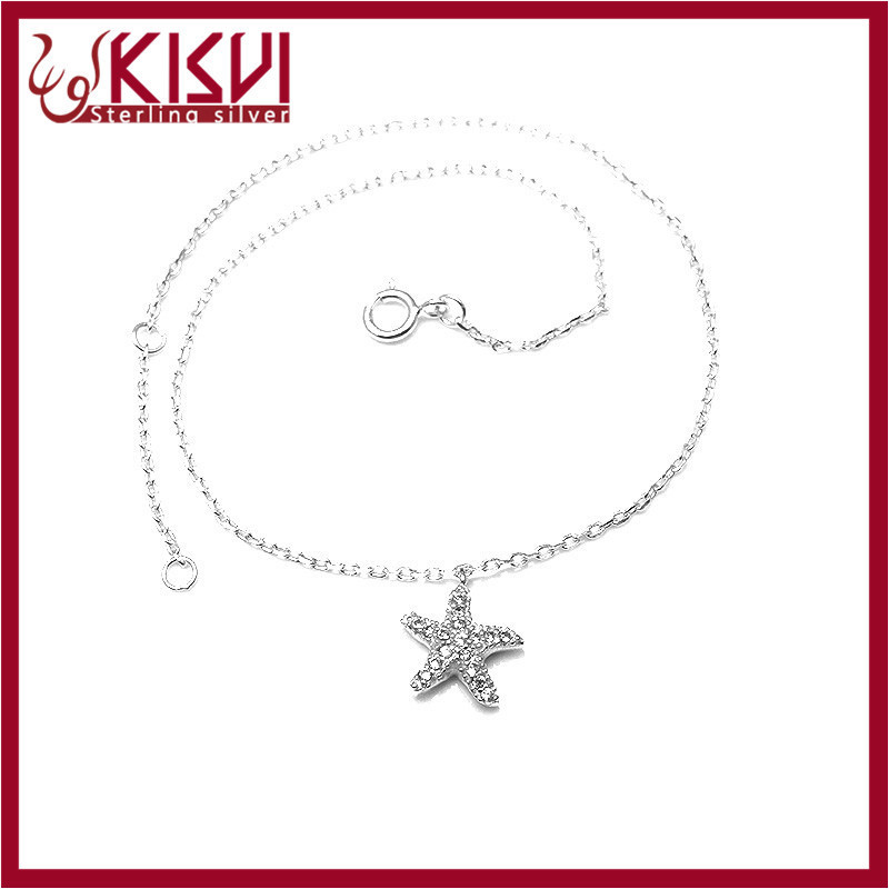 925 sterling silver jewelry European charm bracelet starter Hot sale 2015 fashion Anklet