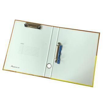 quality custom a4 crarboard 2 ring binder and clip folder