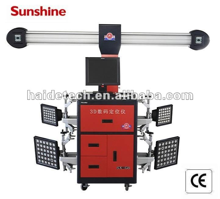 """sunshine""brand 4 Wheel align machine SX-G6 with CE&ISO"
