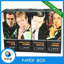 Small 30ml Customized E-liquid Cigarette Packaging Box