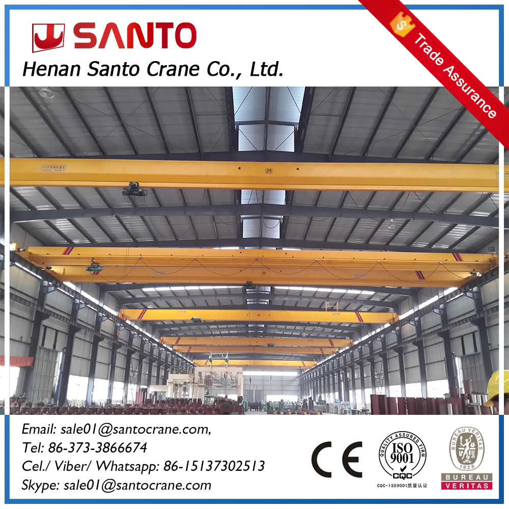 Steel Mill overhead travelling crane With Grab Bucket