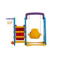 Sport set swing slide indoor children plastic swing slide