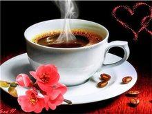 AZQSD Алмазная картина вышивка цветы алмазы Мозаика Цветок полная дрель крестиком наборы кофейная чашка Стразы Декор на стену(Китай)