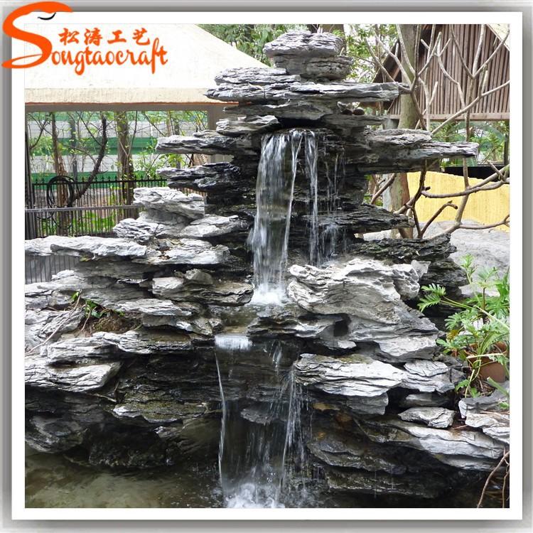Vortex piscina fuente cascada fuente de agua con bomba de for Diseno de fuente de jardin al aire libre