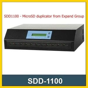 High speed microSD/SD card duplicator SDD1100