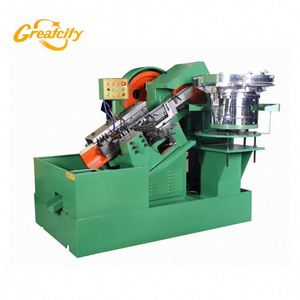 automatic nail threading rolling machine rivets screw making machine
