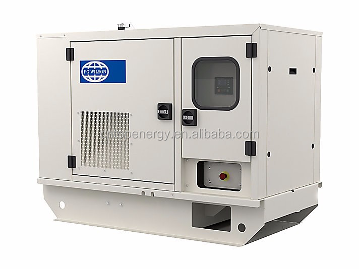 FG Wilson permanent magnet generator price 15KVA 50Hz 1500RPM Low fuel consumption (4.9L/H) with electric start & ATS option