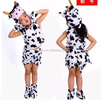 Fancy Dress Up Short Sleeve Animal Kids Cow Costumes  sc 1 st  Alibaba Wholesale & Fancy Dress Up Short Sleeve Animal Kids Cow Costumes - Buy Animal ...