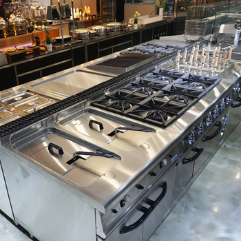 China/Dubai/Arabic Industrial Hotel Banquet Catering Restaurant Buffet Kitchen Equipment For Sale