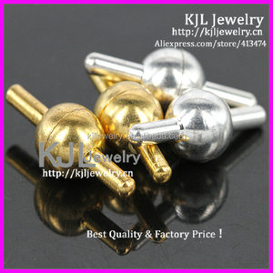 KJL-A0333 Wholesale Strong Ball Magnetic Clasps End Claps for making Bracelet / Necklace jewelry findings