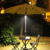 Draadloze Patio Parasol Licht 2 Helderheid Modus Draadloze 36 LED Verlichting-3 x AA Battery Operated Solar LED Parasol licht